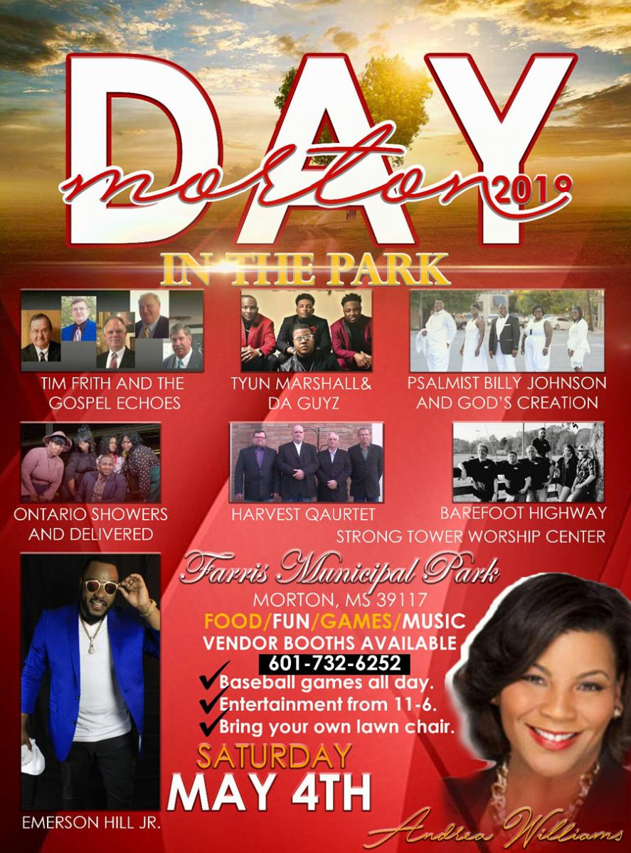 Morton Day in the Park flyer